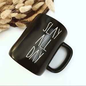 Rae Dunn Slay All Day Coffee Mug 16 oz
